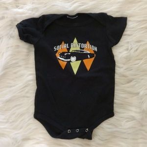 Social Distortion Baby Bodysuit